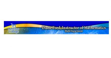 Diane Ford, Math Instructor [S]