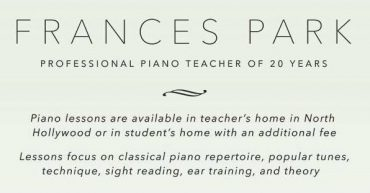 Frances Park Piano Studio [S]