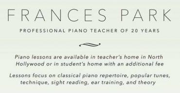 Frances Park Piano Studio [S]