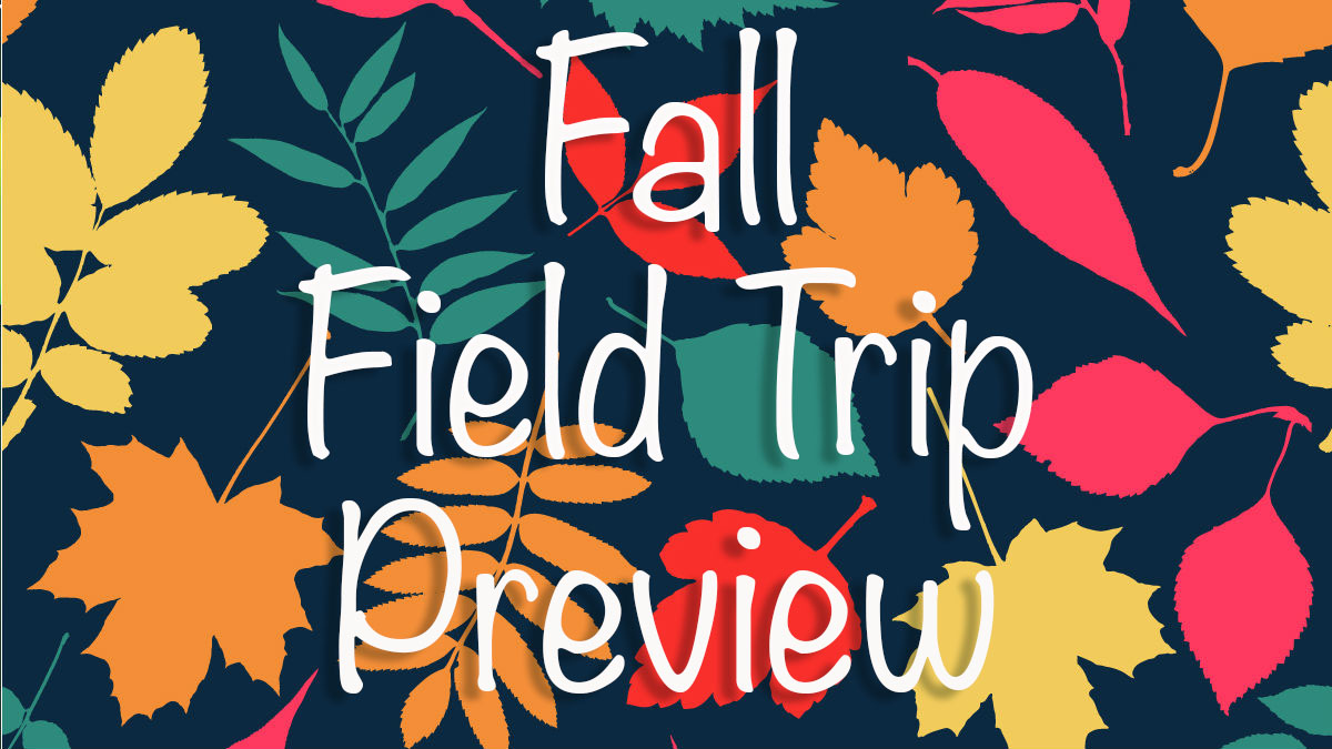 Fall Field Trips preview