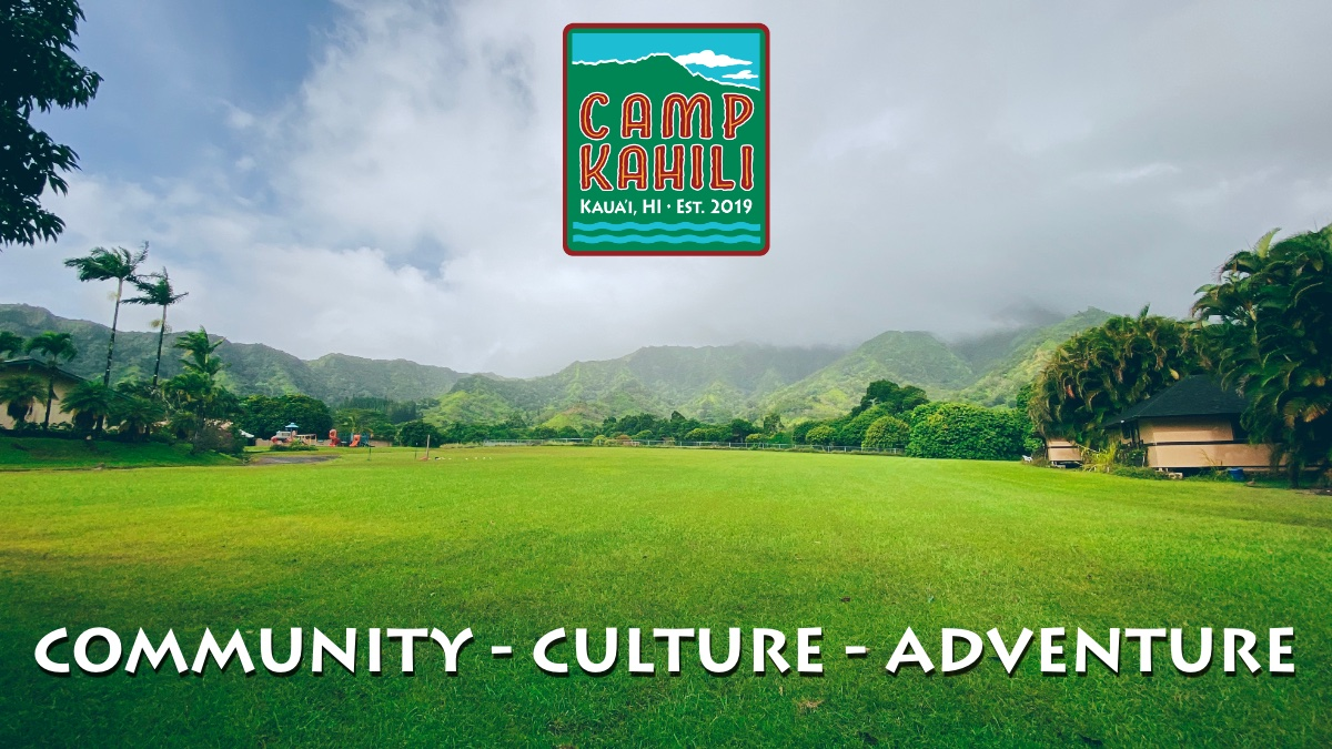 Camp Kahili Email Header