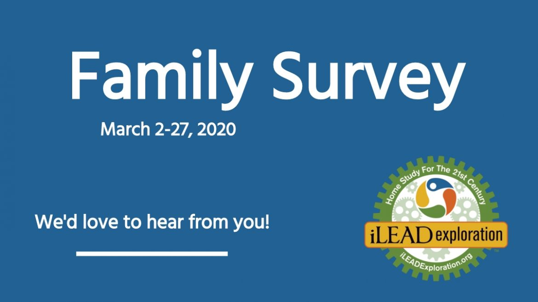 iLEAD Exploration Family Survey